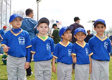 Little Players at Throgs Neck Little League